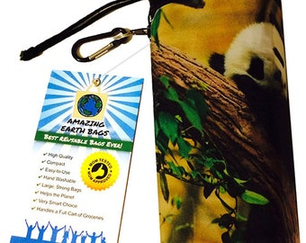 Full set! Amazing Reusable Bags !!!  Panda
