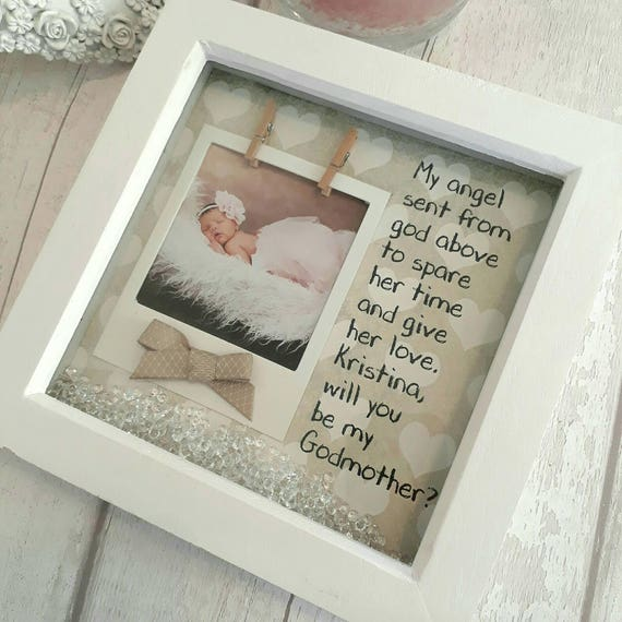 Beautiful Godmother Frame Vignette - Custom Picture Frame Ideas ...