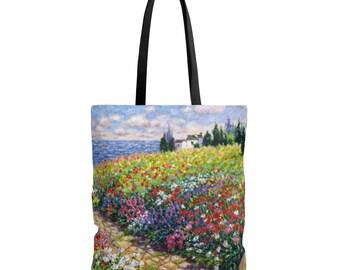 Diane Monet  Path To The Beach  Tote Bag
