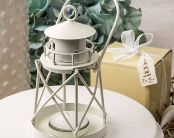 Nautical Lantern Decorations or Favors for Beach Wedding Favors (Pack of 6)