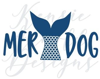 Merdog Monogram Addition for Dog Bandana - Matte, Glitter & HOLO Options