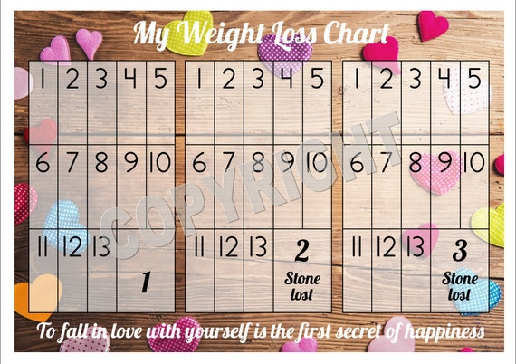 weight track chart