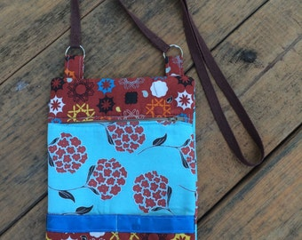 Floral and Geometric Purse