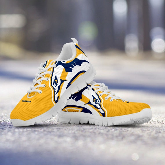Trainers Shoes Predators Running Nashville Ladies Sneakers Custom Unofficial gift collector Sizes Mens Kids Fan BpX4Xqw0