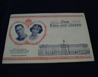 Cigarette Cards Our Kings And Queens