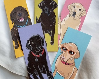 Lab Bookmarks - Bright Colors - Eco-friendly Set of 5