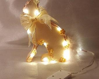 Sparkling bunny