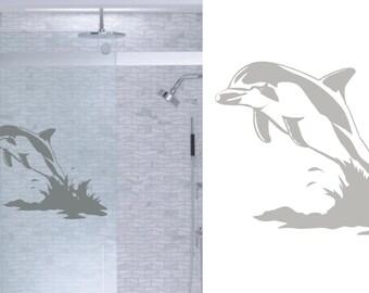 Sea Turtles Ocean Diy Etched Glass Vinyl Window Films Shower