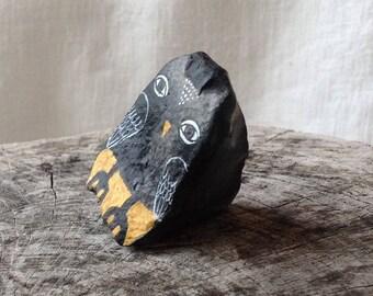 Large Beach Stone Owl