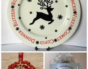Reindeer Design........ SVG, FCM & MTC included.......... Commercial Use Allowed.