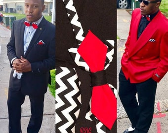 Crazy Red Bow Tie