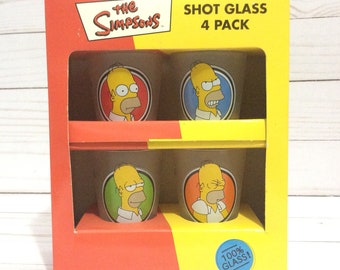 The Simpsons Shot Glasses