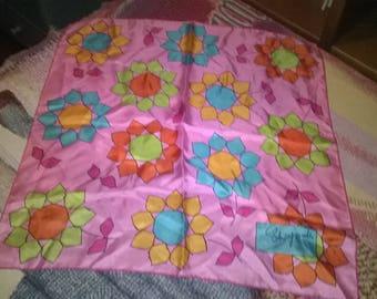 """Silk scarf """"Schiaparelli"""" anni ' 70"""