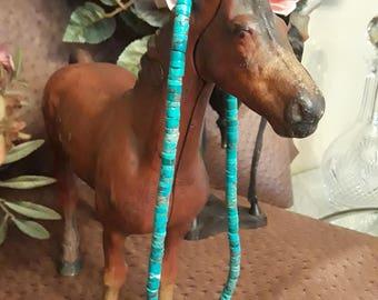 Natural Arizona turquoise necklace