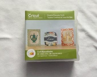 Cricut Cartridge - Creative Everyday Cards - Gently Used