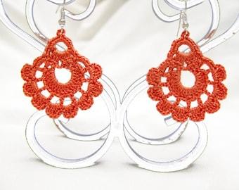 PDF Tutorial Crochet Pattern...Dangle Earrings -19