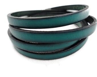 Wrap Leather Bracelet for men, leather wrap bracelet for women, everyday bracelet, Casual bracelet, Teenage Leather Bracelet, Boys Bracelet