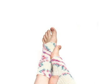 Knitted yoga socks, wool socks for yoga, knit dance socks