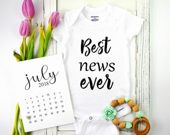 Best News Ever / Baby Announcement