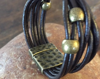SYLVAN leather bracelet