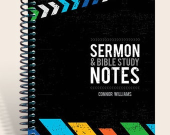 Sermon and Bible Study Notes / Sermon Notes for Teen Guys / Sermon Notebook