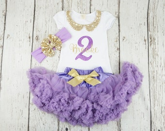purple first birthday outfit, lavender birthday outfit for girl, second birthday tutu dress, third birthday purple outfit, birthday outfits