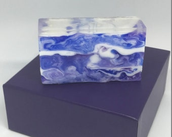 Blue and Purple Swirl