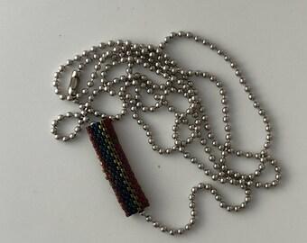 Peyote Tube Necklace 2