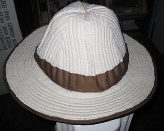 Civil War Confederate Quilted Hat