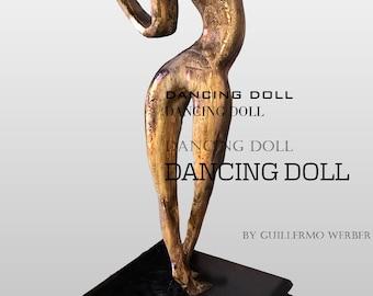 dancing doll sculpture