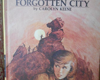 Nancy Drew. Reserved. The Secret of The Forgotten City by Carolyn Keene. 1975. Book 52. Hardcover.
