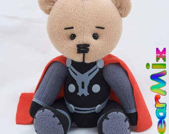 Thor bear - Avengers Thor Ragnarok Marvel hero movie comic plush