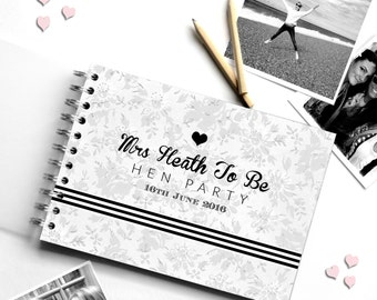 Hen Party Guest Book