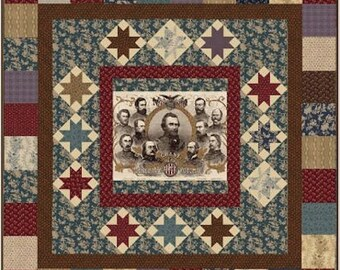"Quilt Kit and Pattern - ""The Generals"" by Karen Witt"