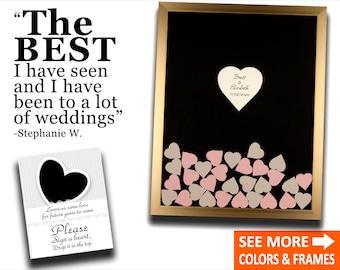 Wedding Guest Book Alternative Guestbook Drop Box Guest Book Heart Guestbook Wedding Alternative Guest Book Idea Drop Box Wedding Guestbook