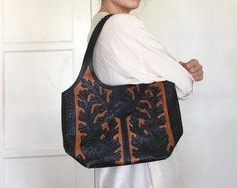 VIDA Leather Statement Clutch - Fridabag by VIDA IsUso