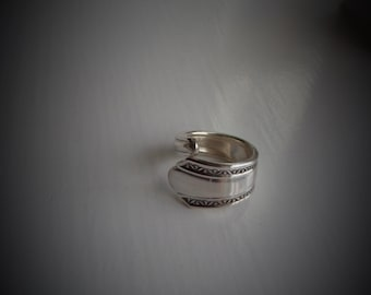 Vintage Spoon Ring Wrap