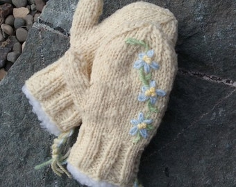 Babydoll Southdown Lined Mittens-Toddler