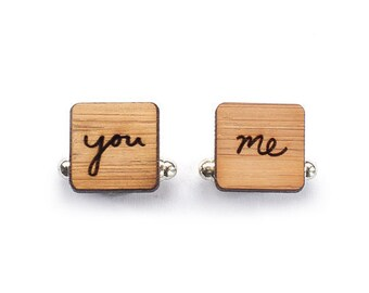 Cufflinks - Groom cufflinks - Wedding Cufflinks - 5 year anniversary - cufflinks for men - cufflinks groom