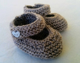 Stone Knitted Girls Shoes