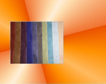 Set of 10 sheets of Nepalese paper 50 / 70 cm * Pack N2 *.