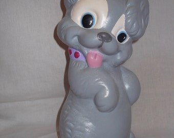 Handmade Decorative Ceramic Dog Bank