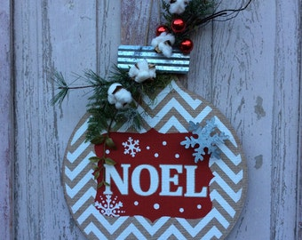 Christmas Door hanger, Noel Christmas Sign, Christmas door sign, Christmas door, Christmas door Decor, Christmas door Decoration,
