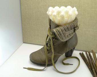 Boot Cuffs,Boot Cuffs Womens,Boot Cuffs Wool,Boot Cuffs Crochet,Boot Cuffs Women Crochet,Boot Cuffs,Boot Sock / Sandycraft