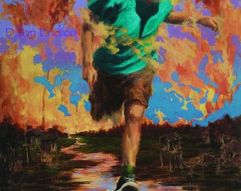 Runner. Art by Dillon Endico.