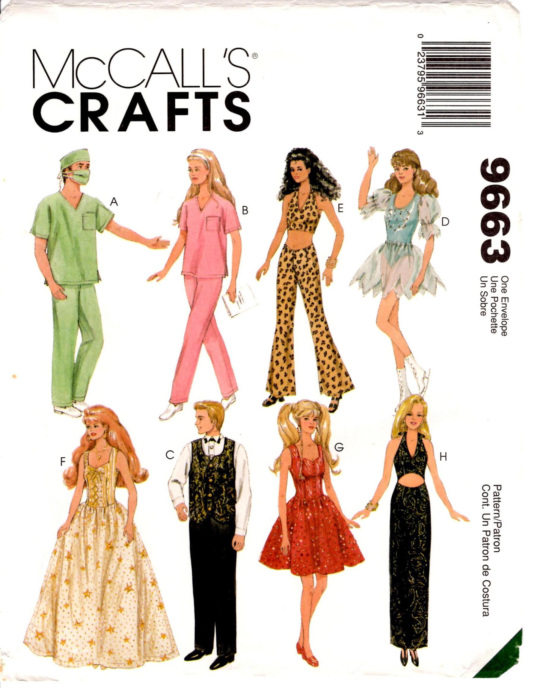 Fashion doll sewing patterns free 89