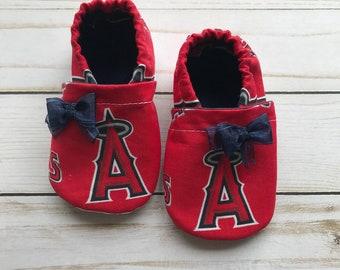 Anaheim Angels Inspired Booties