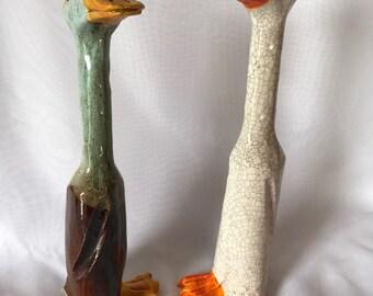 Pair of runner Ducks