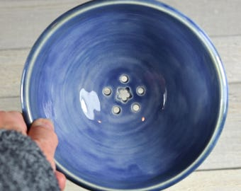Blue Berry Bowl - Strainer