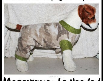 Fleece Pajamas - Custom made to Measurements